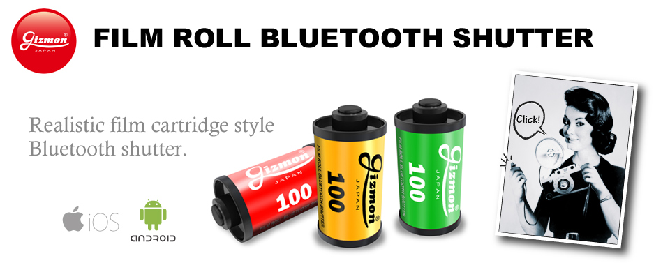 GIZMON FILM ROLL BLUETOOTH SHUTTER