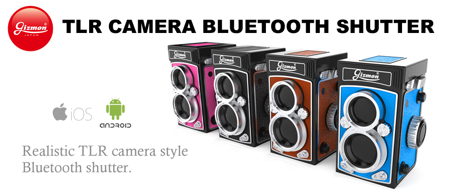 GIZMON TLR CAMERA BLUETOOTH SHUTTER