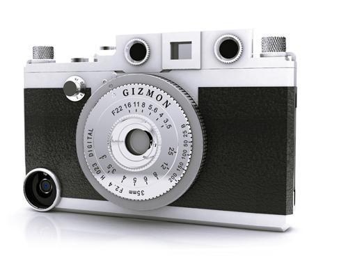 Gizmon iCA bộ vỏ máy ảnh dành cho Iphone 4/ 4s