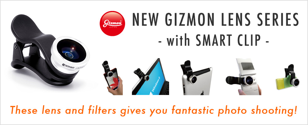 NEW GIZMON LENS SERIES with SMART CLIP