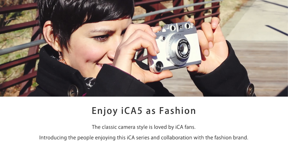 Enjoy iCA5 as Fashion