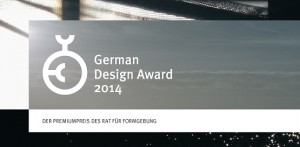 GIZMON iCA has been nominated German Design award 2014 !!