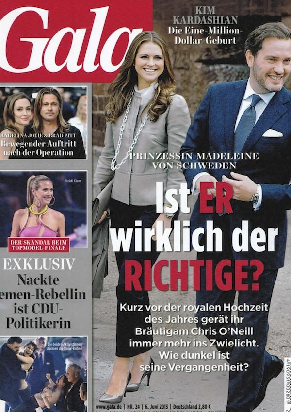 ドイツの雑誌「gala」にGIZMON iCAが紹介されました。