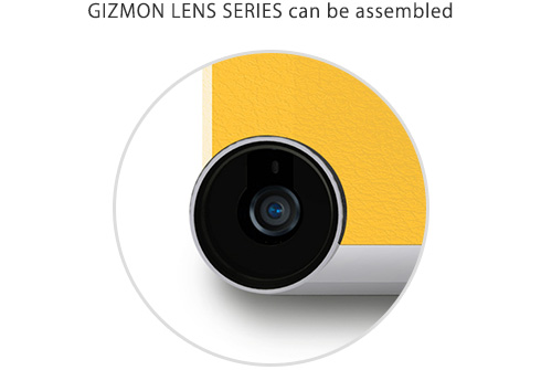GIZMON LENS SERIES can be assembled