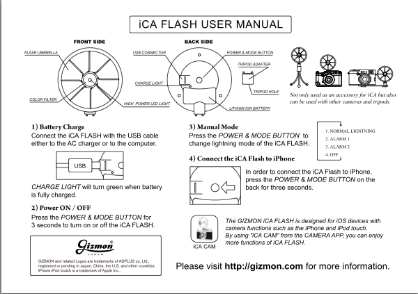ica flash manual