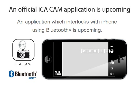 iOS devices which are compatible with iCA FLASH using Bluetooth