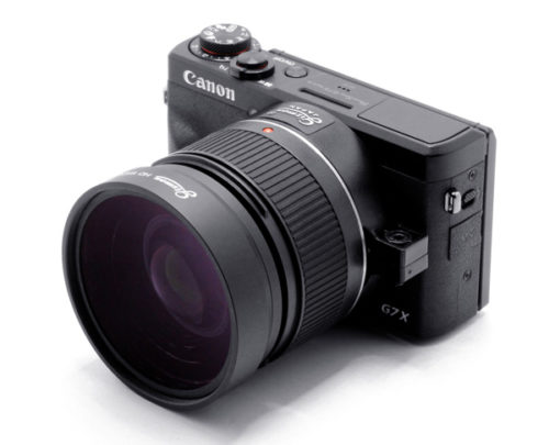 CANON PowerShot G7 X Mark IIIへの取り付け例