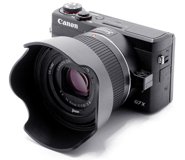 Installation example of Canon PowerShot G7 X Mark III