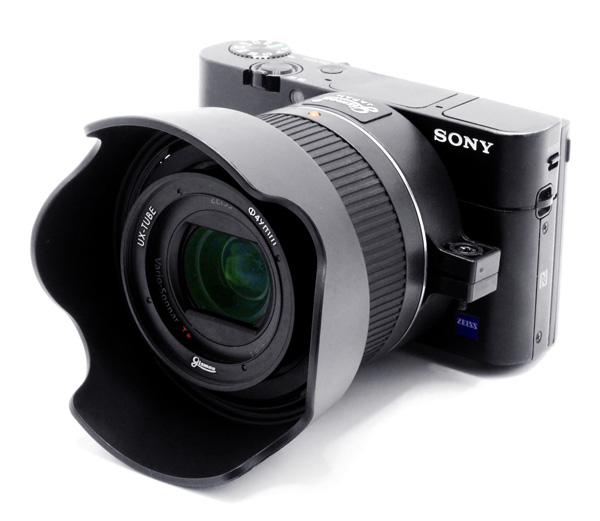 Installation example of SONY  DSC-RX100M3